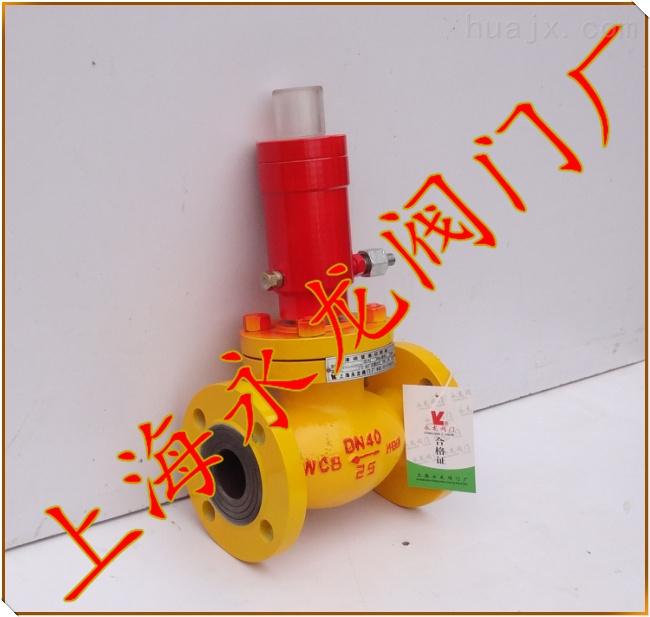 氨气紧急切断阀,氨气专用阀门,氨罐装卸安全切断阀图片