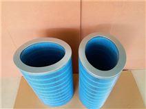 替代唐纳森P191920-016-436椭圆形蓝色阻燃纸空气滤芯 除尘滤筒