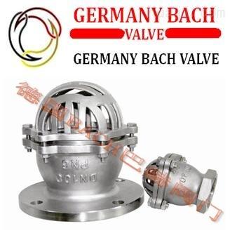 进口不锈钢底阀 -德国Bach品牌