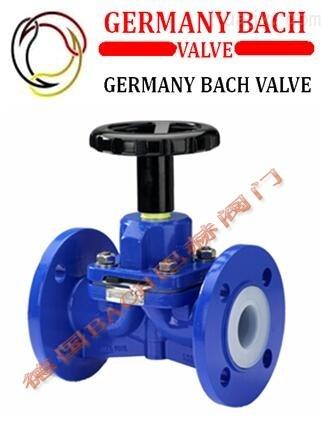 进口衬氟隔膜阀|-德国Bach品牌