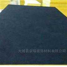 岩棉黑色影院玻纤板