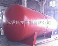 甲酸储罐生产厂家 70方醋酸储罐 卧式钢衬塑罐
