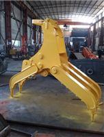 现代R150挖掘机定做抓木器 广州厂家专业制造供应