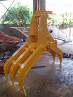 现代R130液压回转抓木器 抓石器 厂家制造供应